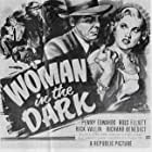Penny Edwards and Ross Elliott in Woman in the Dark (1952)