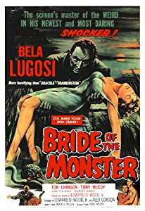 Watching action movies high Bride of the Monster USA [480x854]