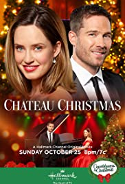 Chateau Christmas Poster