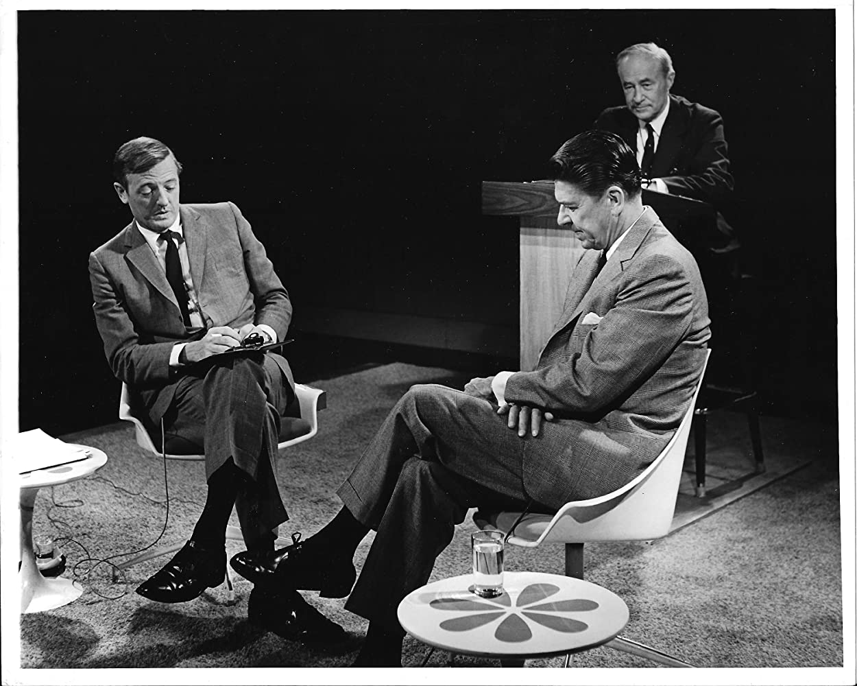 Ronald Reagan, William F. Buckley, and C. Dickerman Williams in Firing Line (1966)