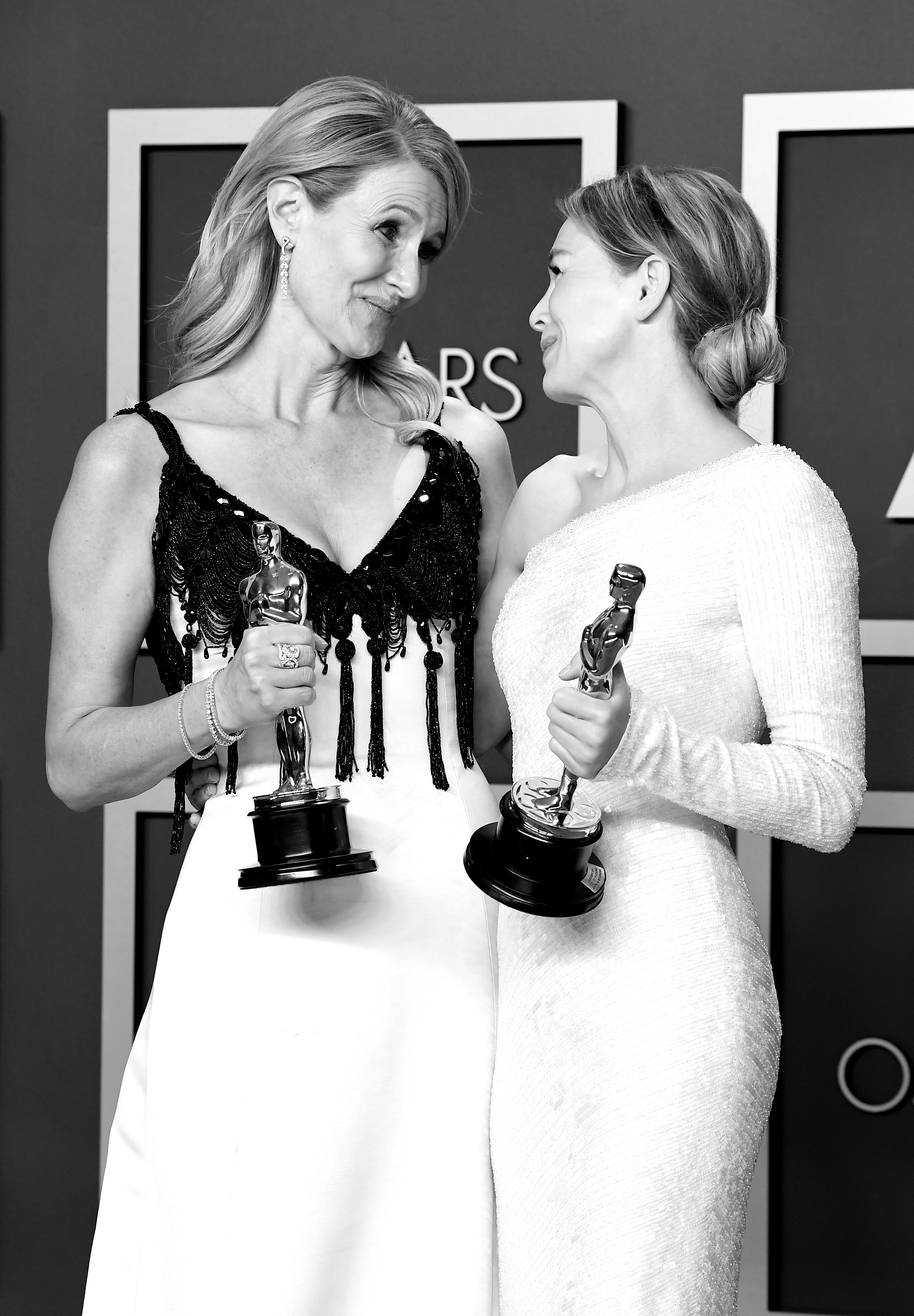 Renée Zellweger and Laura Dern at an event for The Oscars (2020)