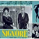 Chelo Alonso, Livio Lorenzon, and Enrico Maria Salerno in Le signore (1960)