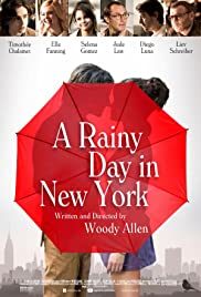 A Rainy Day in New York Poster