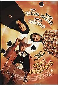 Janeane Garofalo, Vince Vaughn, and Joaquin Phoenix in Clay Pigeons (1998)