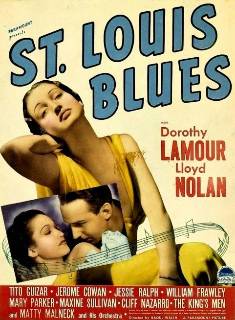 Dorothy Lamour and Lloyd Nolan in St. Louis Blues (1939)