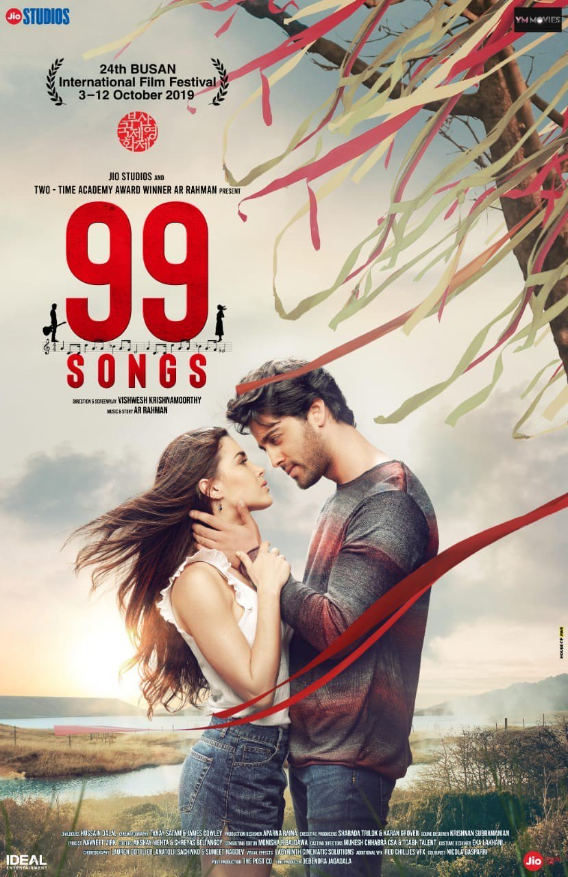 99 Songs 2021 Tamil 720p HQ PreDVDRip 900MB | 400MB Download