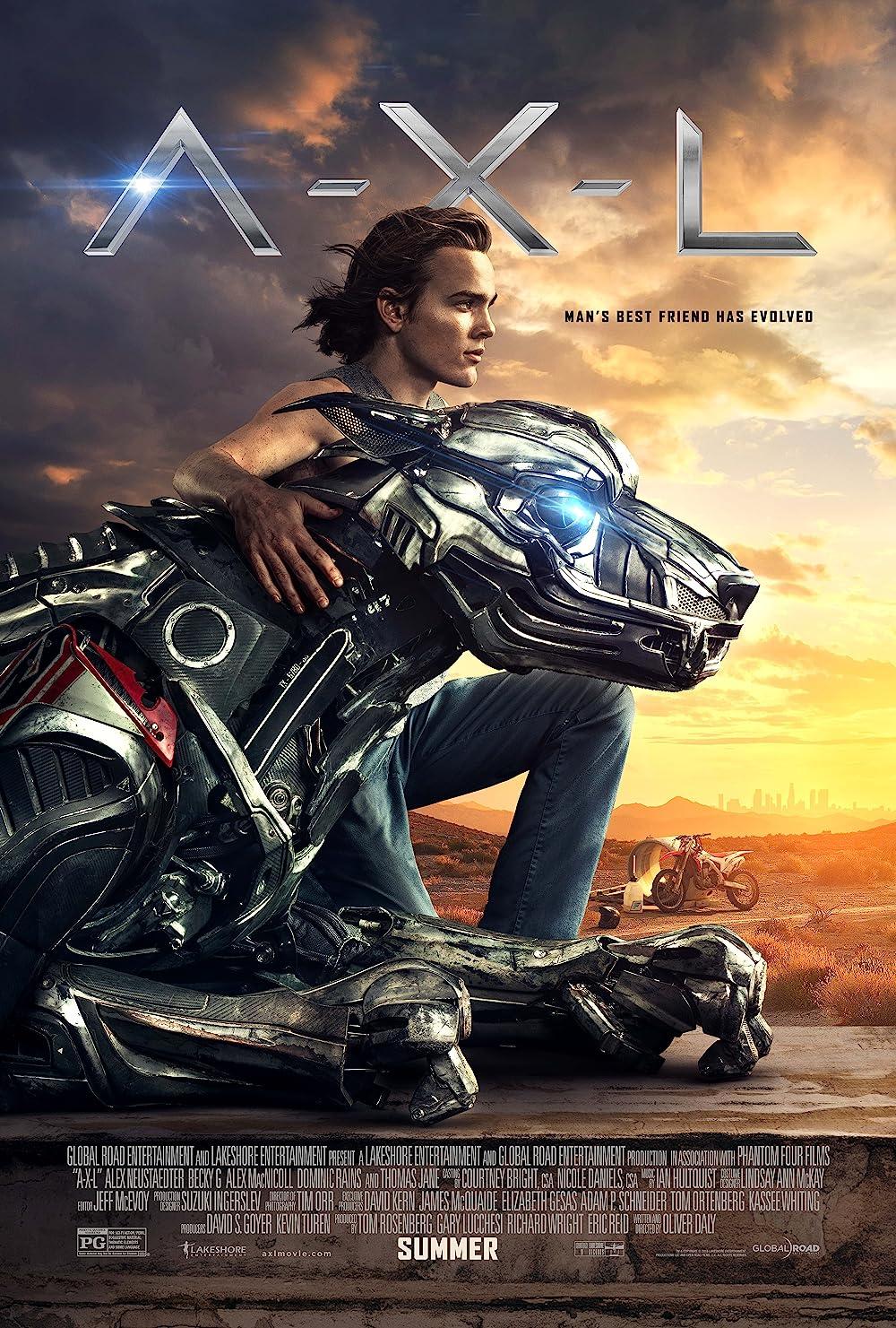 Poster film A.X.L.