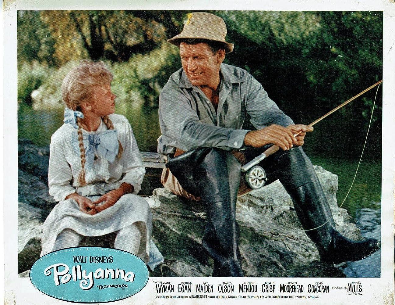 Hayley Mills and Richard Egan in Pollyanna (1960)