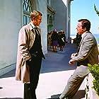 Steve McQueen and Robert Vaughn in Bullitt (1968)