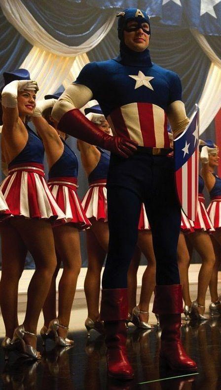Chris Evans in Captain America: The First Avenger (2011)
