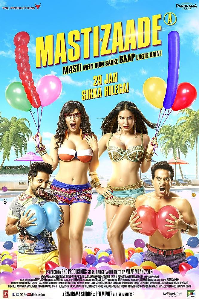 Mastizaade 2016 Hindi Movie 350MB WEB-DL Download