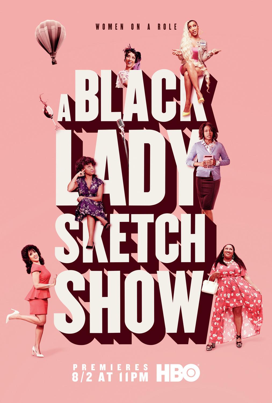 Juodosios ledi eskizų šou (1 Sezonas) / A Black Lady Sketch Show Seasion 1