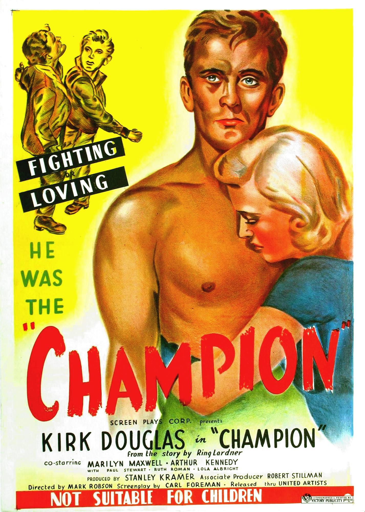 arrives huge sale hot sales Champion (1949) - IMDb