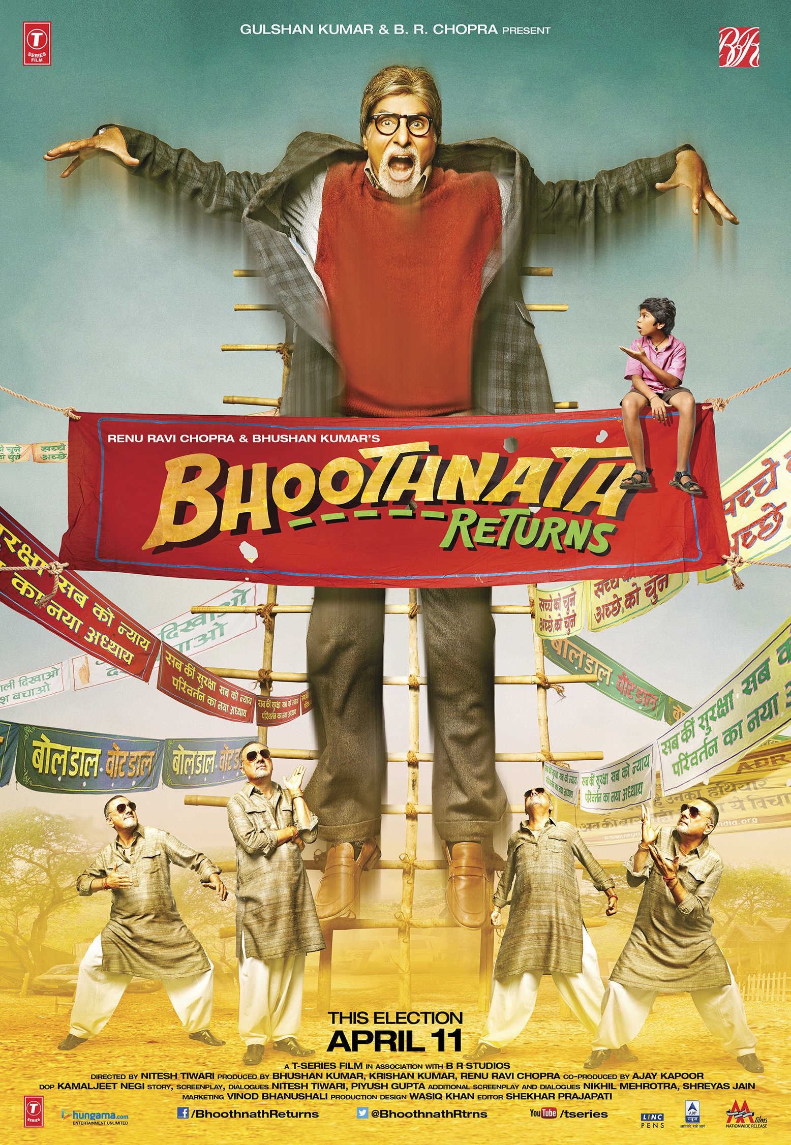 Download Bhoothnath Returns (2014) Hindi Full Movie BluRay 480p [400MB] | 720p [1GB]