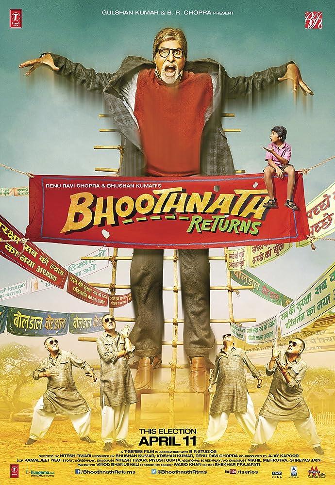 Bhoothnath Returns 2014 Hindi Full Movie 400MB BluRay Download