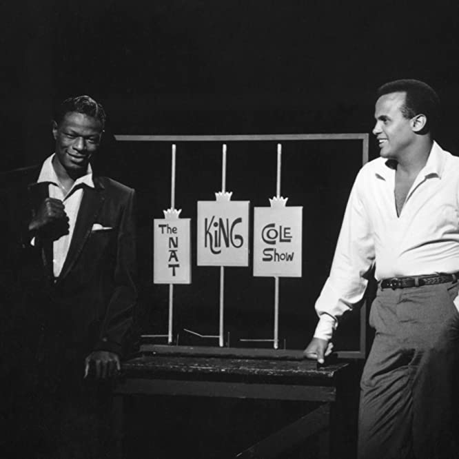 Harry Belafonte and Nat 'King' Cole in The Nat King Cole Show (1954)