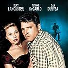 Burt Lancaster and Yvonne De Carlo in Criss Cross (1949)