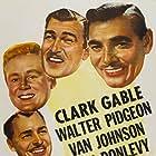 Clark Gable, Brian Donlevy, Van Johnson, John Hodiak, and Walter Pidgeon in Command Decision (1948)