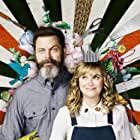 Nick Offerman and Amy Poehler in Making It (2018)