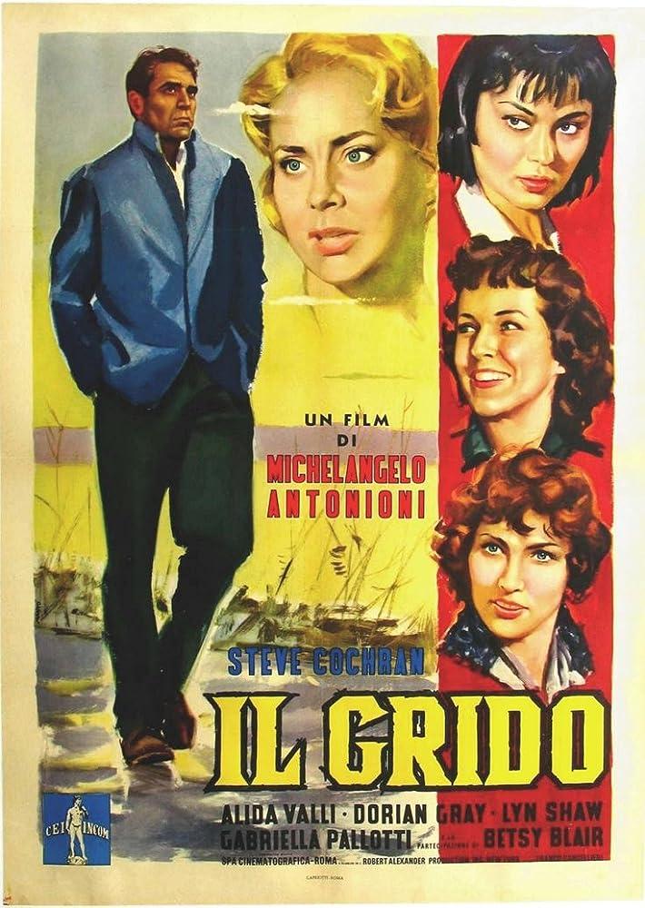 Betsy Blair, Steve Cochran, Dorian Gray, Jacqueline Jones, and Alida Valli in Il grido (1957)