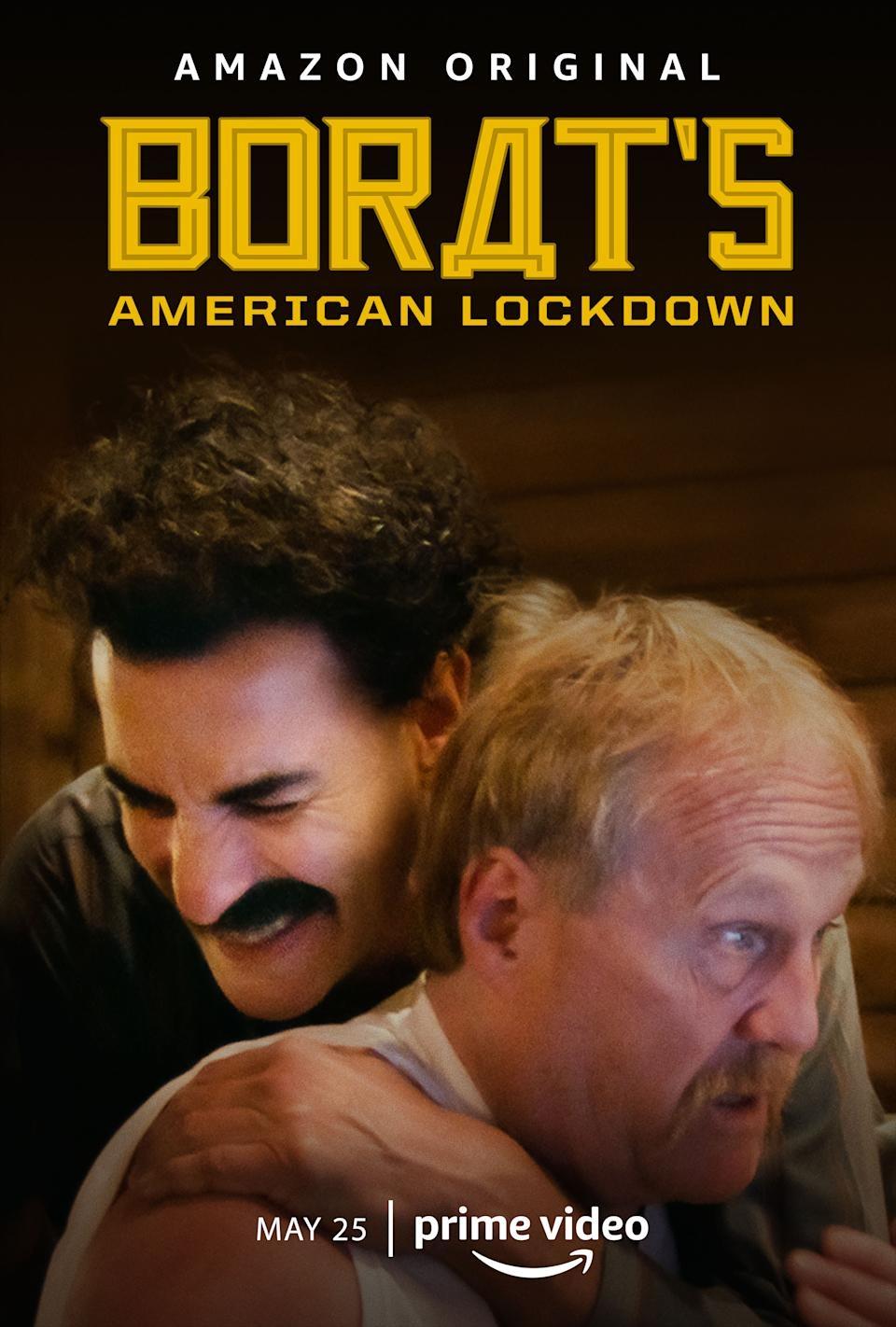 دانلود زیرنویس فارسی سریال Borat's American Lockdown & Debunking Borat