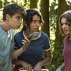 Sadie Calvano, Daniel Doheny, and Geraldine Viswanathan in The Package (2018)