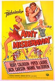 Piper Laurie and Mamie Van Doren in Ain't Misbehavin' (1955)