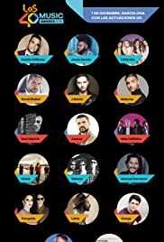 Los40 Music Awards 2016 Poster