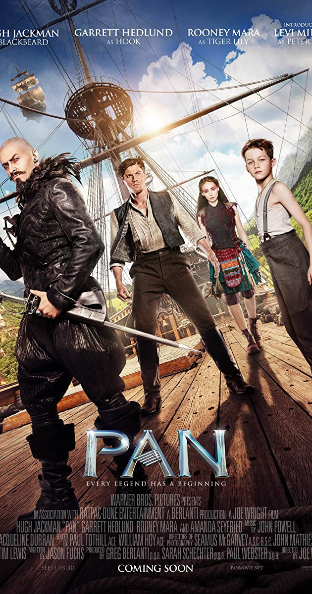 Pan (2015) - Full Cast & Crew - IMDb