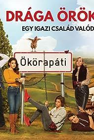 Róbert Koltai, Ferenc Lengyel, Szabolcs Bede Fazekas, István Hajdu, and Zsuzsa Járó in Drága örökösök (2019)