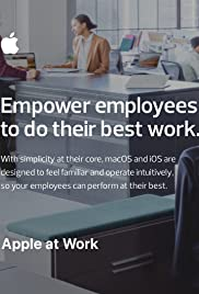 Apple at Work Poster