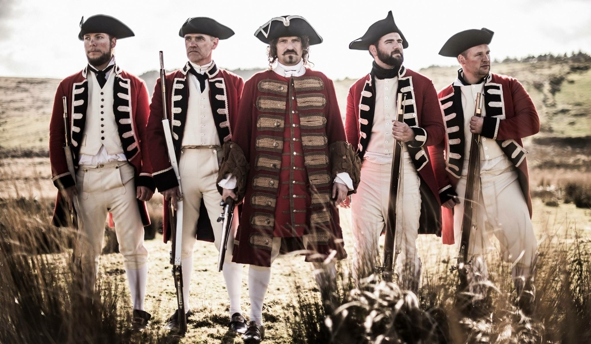 Lee Galley, Guillaume Rivaud, Richie Crane, Ben Robins, and Stuart Milliner in The Highwayman (2016)