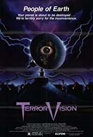 TerrorVision (1986) Poster - Movie Forum, Cast, Reviews
