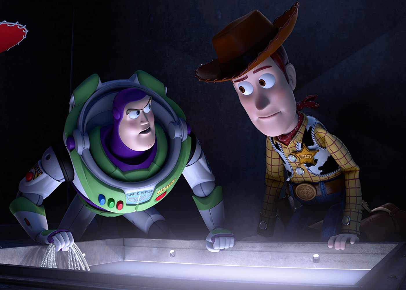 Tom Hanks and Tim Allen in Toy Story 4 (2019)