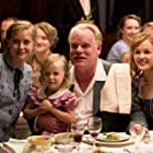 Philip Seymour Hoffman, Amy Adams, and Ambyr Childers in The Master (2012)