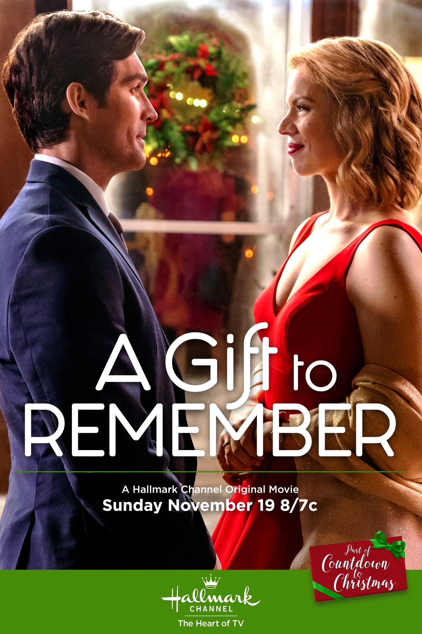 Ali Liebert and Peter Porte in A Gift to Remember (2017)