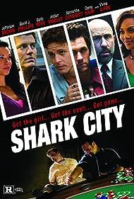 Vivica A. Fox, Corey Haim, Jefferson Brown, Jordan Madley, Tony Nappo, Carlo Rota, and David J. Phillips in Shark City (2009)