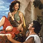 Hedy Lamarr and Victor Mature in Samson and Delilah (1949)