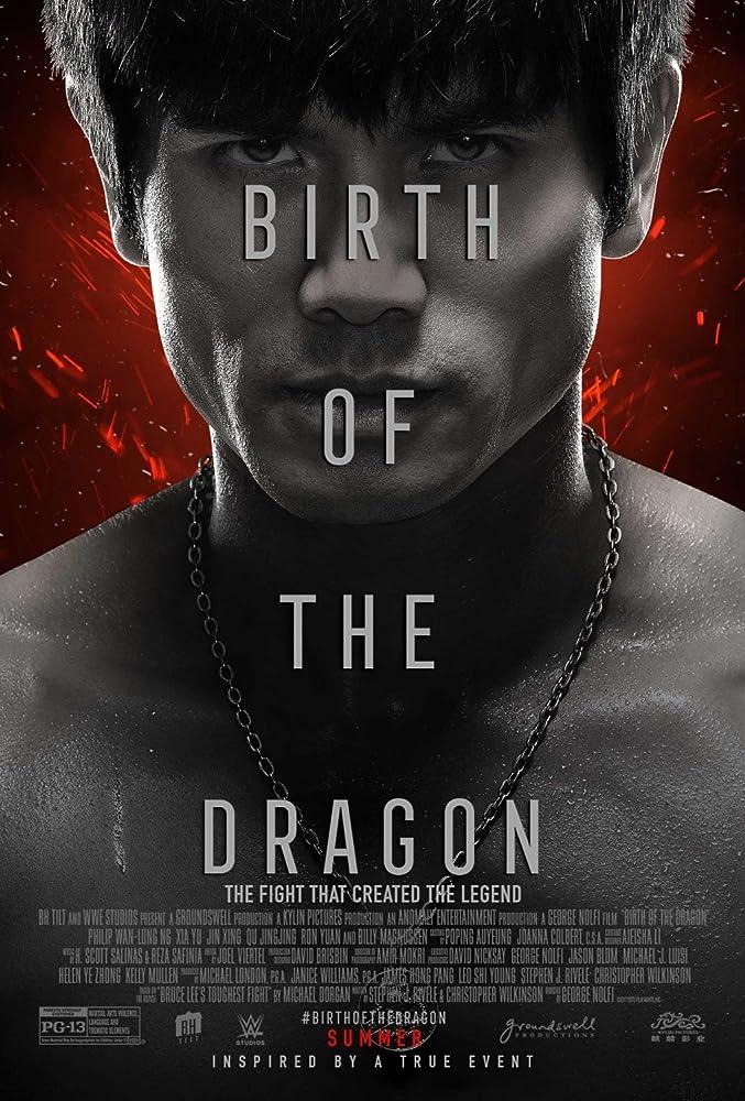 ปกหนัง บรูซ ลี มังกรผงาดโลกBirth of the Dragon