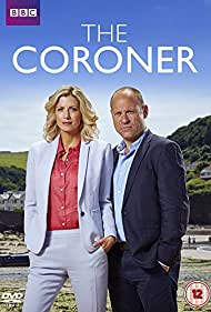 Matt Bardock and Claire Goose in The Coroner (2015)