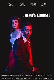Vash Singh and Yasmin Hankel in A Hero's Counsel (2018)