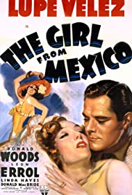 Lupe Velez and Donald Woods in The Girl from Mexico (1939)