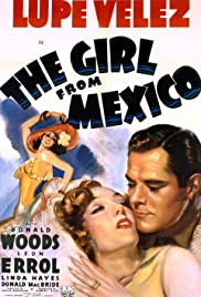 The Girl from Mexico Poster