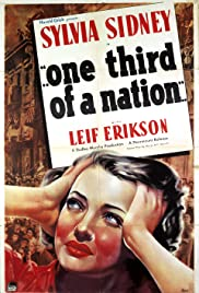 ...One Third of a Nation... (1939) starring Sylvia Sidney on DVD on DVD