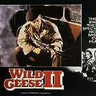 Laurence Olivier, Barbara Carrera, Scott Glenn, Edward Fox, and Robert Webber in Wild Geese II (1985)