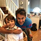 Judah with The World Without You Director, Damon Shalit.