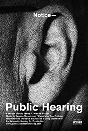 Public Hearing Poster