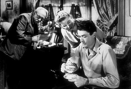 """Spellbound,"" Gregory Peck and Ingrid Bergman 1945 United Artists"