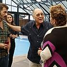 James Spader, Michael Aronov, and Megan Boone in The Blacklist (2013)