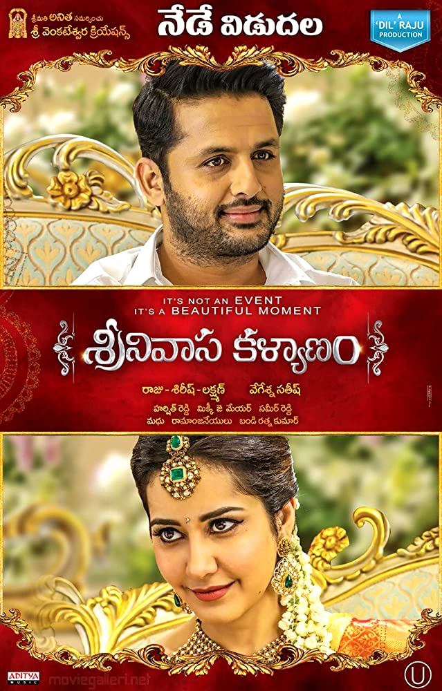 Srinivasa Kalyanam 2018 Hindi Dual Audio 500MB UNCUT HDRip ESubs Download